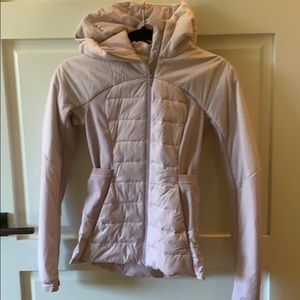 Lululemon light puffer jacket